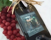 Personalized Wine Bottle Cheese Board