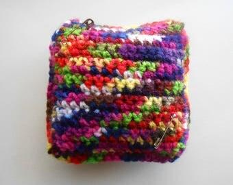 Crochet Pincushion Pillow OverDyed
