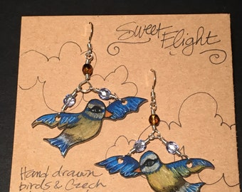 Sweet Flight earrings