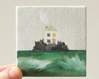 life at sea / original painting on canvas