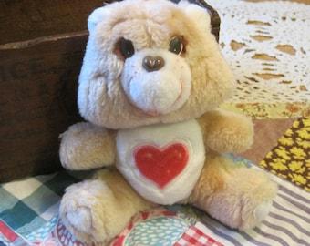 Sweet Little Vintage 1983 Plush Tenderheart Bear