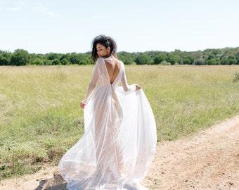 Moss Dress // long sleeved lace wedding dress