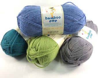 deSTASH: Stitch Nation Bamboo Ewe knitting yarn