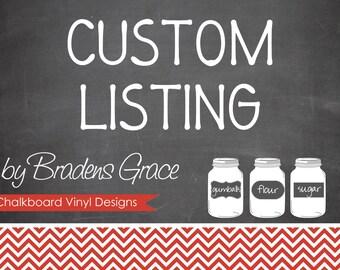 custom order for vineyard eleven