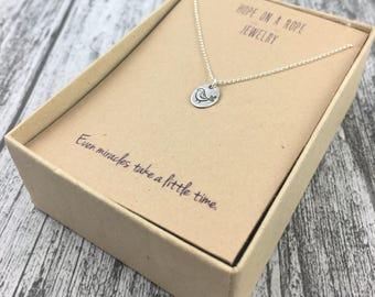 Partridge Necklace - Fertility Necklace - Sterling Silver Partridge Necklace - Fertility Symbol - Miracle Necklace -Simple Fertility Jewelry