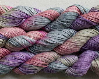 Junco, Rayon Tape Ribbon, Hand dyed  104 yds - Desert