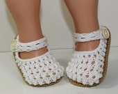 HALF PRICE SALE Instant Digital File pdf download knitting pattern Toddler Simple Lacey Sandals knitting pattern