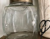 Antique Jar, for cookies, crafts,