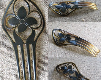 Vintage Decorative Hair Comb