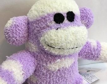 Skye the Baby Friendly Sock Monkey
