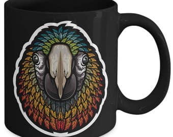 Parrot Psittacines Colourful Bird Coffee Mug