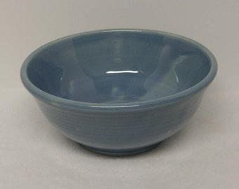 Light Blue Porcelain Bowl Serving Cereal Rice