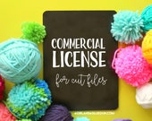 Limited Commercial license for cut files