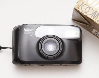 Nikon Zoom 200 AF Compact 35mm Film Camera - Fully Working