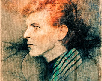 David Bowie - Limited Edition Print 8.5 x 11