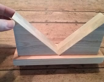 Wooden Box Holder for stained glass artists