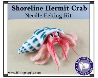 Shoreline Hermit Crab Needle Felting Kit