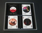 Pink Floyd - The Wall ltd. Edition Collector Rock Playing Card Drink Coasters (4 Coasters)