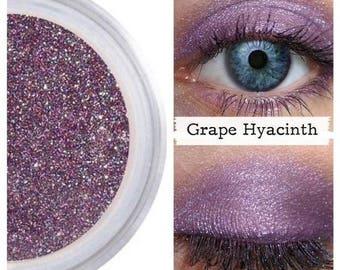 Purple Shimmer, Purple Eye Shadow, Professional Eyeshadow, Deep Purple, Dark Purple, Eyeshadow, Mineral Eye Shadow, Vegan, GRAPE HYACINTH