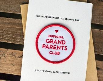 Grandparents Club Card & Patch