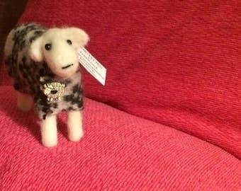 Cute needle felted sheep