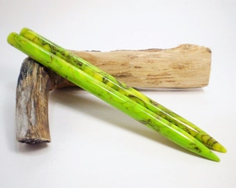 Acrylic Hair Sticks - Toxic Purple - 6 inches (15.24 cm) No 588