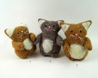toy cat, orphan cat, kittens, waldorf cat,