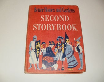 Vintage 1952 Better Homes and Gardens 2nd Storybook - Childrens Hardcover Book, Illustrated Collectible, Good Bedtime Stories