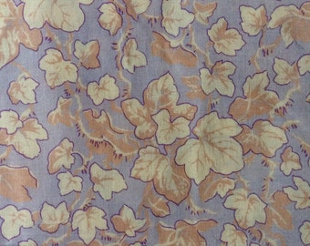 Philip Jacobs, Ivy, grey, OOP, rare, Kaffe Fassett collective fabric, by the half yard