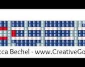 Reserved for Donya - Bracelet Pattern - Loom Pattern