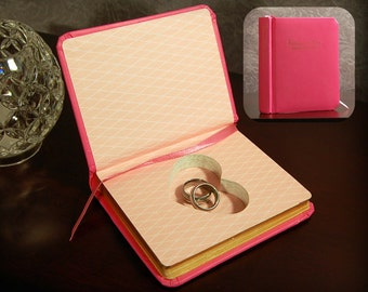 Hollow Book Safe with Heart - Fortune-Telling Book of Love - Secret Book Safe