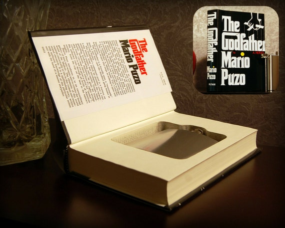 Hollow Book Safe & Flask (The Godfather)