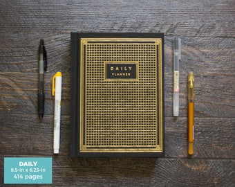 Impeccable image regarding hardcover daily planner