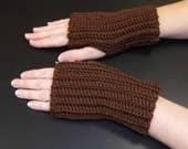 Fingerless Gloves, ribbed gloves, hand warmers, texting gloves, crochet gloves, wrist warmers, winter gloves