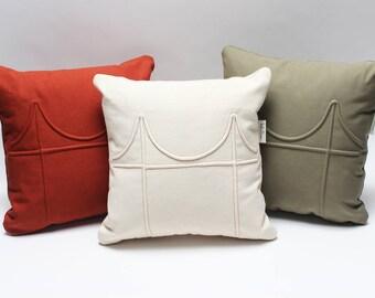 """14"""" Golden Gate Bridge Pillow"""