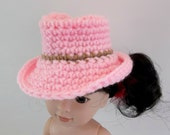 Western Cowboy Hat for 14.5 inch Doll by CUSTOM ORDER Crochet Toys Accessories