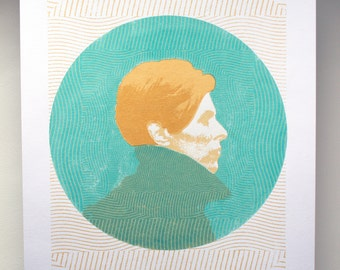 The Man Who Fell to Earth Movie Poster Screenprint *David Bowie*