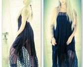 OS Black backless festival dress, spell n gypsy soul bohemian style festival dress, Spring break, LBD, Boho style dress, True rebel clothing