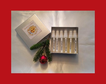 Aromatherapy/Natural Perfume Holiday Gift - Stocking Stuffer, Secret Santa, Hostess Gift, Perfume with a Purpose