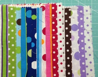 "Crazy for Dots and stripes Roll by RJR 2009 5.5"" x 22"""