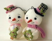 GIFT of the DAY - Snow Folk pdf Pattern - Instant Download