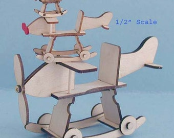 Airplane Rocker Kit 1:12 Scale