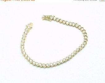 Vintage Crystal Tennis Bracelet