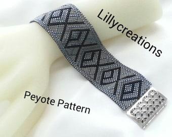 Peyote Pattern Bracelet P1004