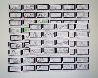 Star Wars: Raw Deal Storyboards