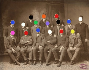 We Are All Colored Men #2, 11x14 inches