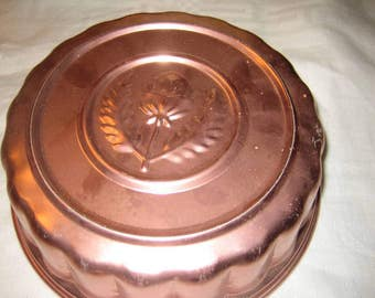 Copper Food/Jello Mold