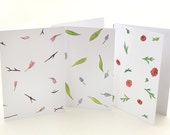Floral Cards Set | Buttercups | Haycinths | Magnolia | Easter Card | Floral Greeting Cards | Watercolor Cards | Mothers Day Card | Spring