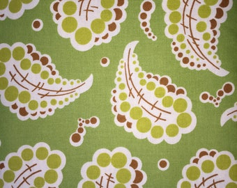 Freshcut by Heather Bailey for Free Spirit ~ 100% Cotton BTY ~ Dotted Paisley PWHB024 - Green