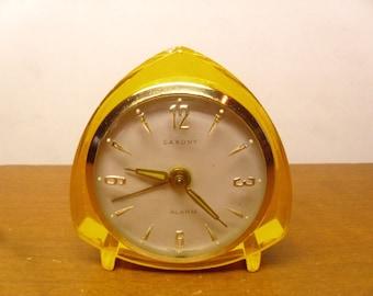 Vintage 1950's/1960's  Saxony Alarm Clock Rare